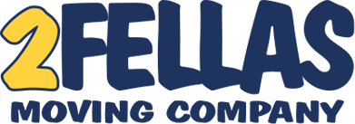 2 Fellas Moving Company Logo