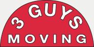 3 Guys Moving Logo
