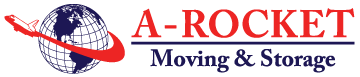 A Rocket Moving & Storage Inc Logo