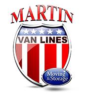 BEST WESTCHESTER MOVERS dba. MARTIN VAN LINES Logo
