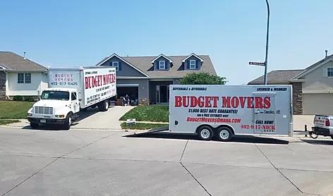 Budget Movers of Omaha Logo