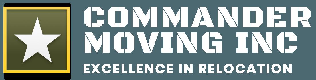Commander Moving Inc. Logo
