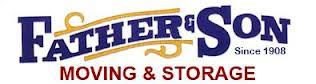 Father & Son Moving & Storage Logo