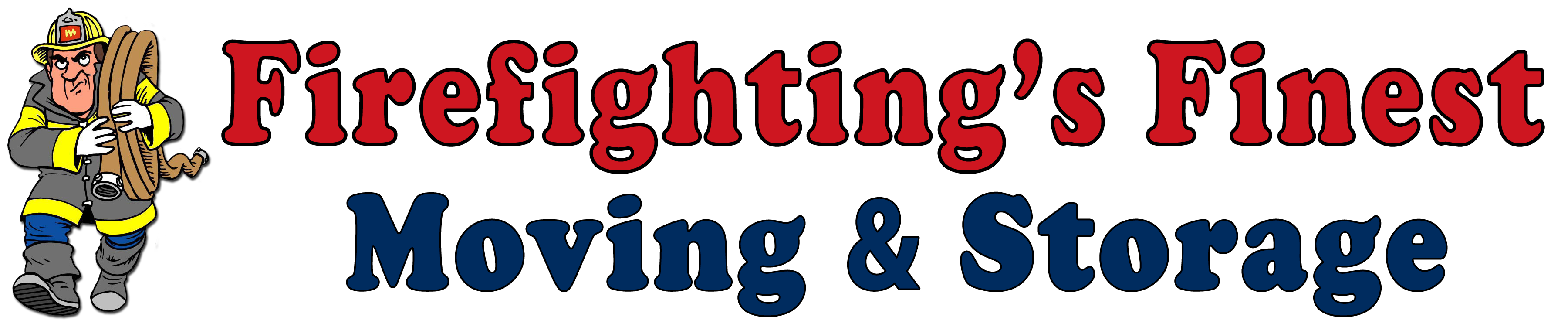 Firefighting's Finest Moving and Storage Logo