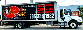 First Class Movers Logo