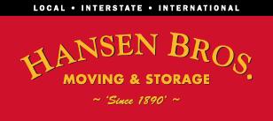 Hansen Bros. Moving & Storage Logo