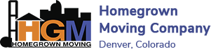 Homegrown Moving Company Logo