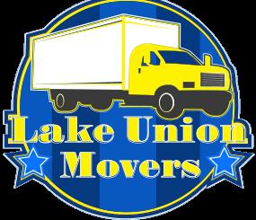 Lake Union Movers, LLC. Seattle Moving Company Logo