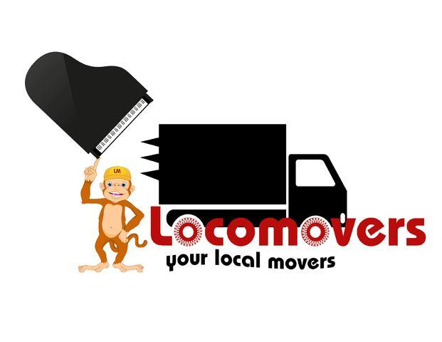 Loco Movers your Local Movers! Logo
