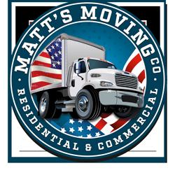 Matt's Moving LLC. Saint Paul MN Logo