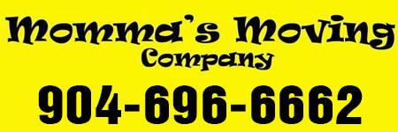 Momma's Moving Company Logo