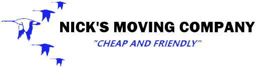Nick's Moving Company Logo