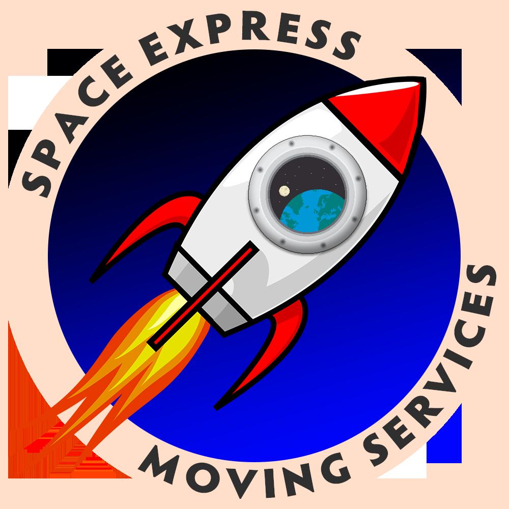 Space Express Moving Logo
