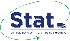 Stat Office Supply Furniture & Moving Logo