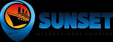Sunset International Shipping Logo