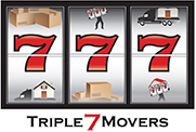 Triple 7 Movers Logo
