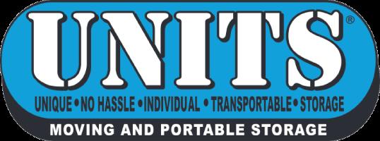 UNITS Moving & Portable Storage Logo
