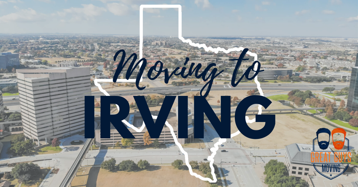 1 Moving To Irving Tx Relocation Guide For 2020 Great Guys