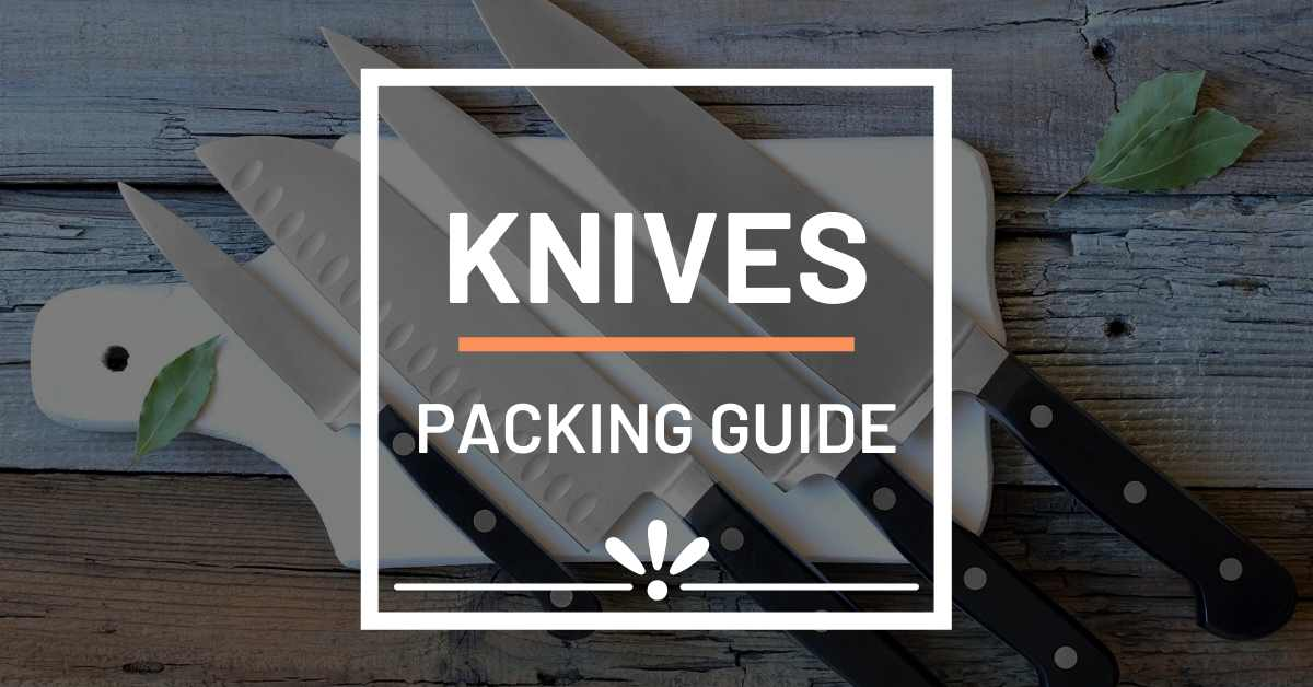 how to pack your knives for moving